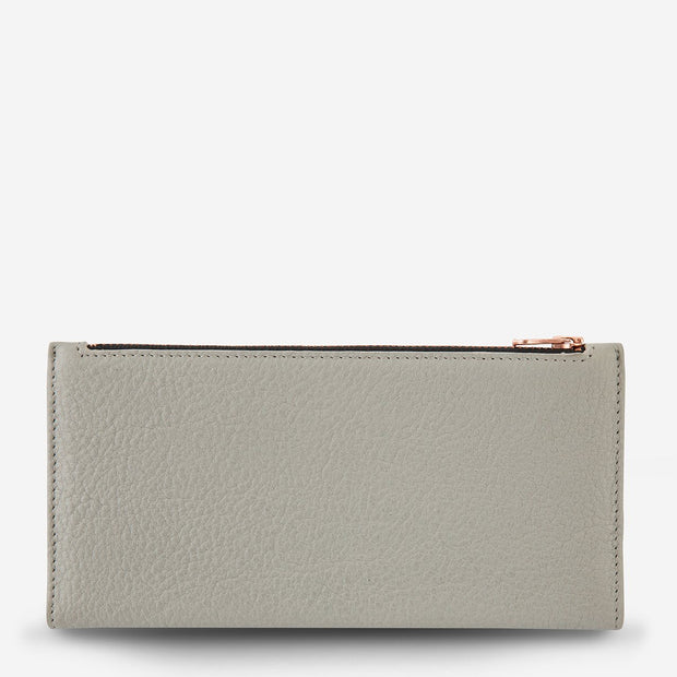 In The Beginning Wallet - Light Grey - Chicago Joes