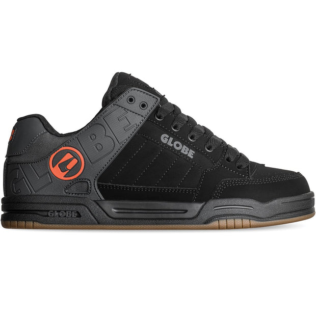 Tilt Shoe - Black Split/Orange