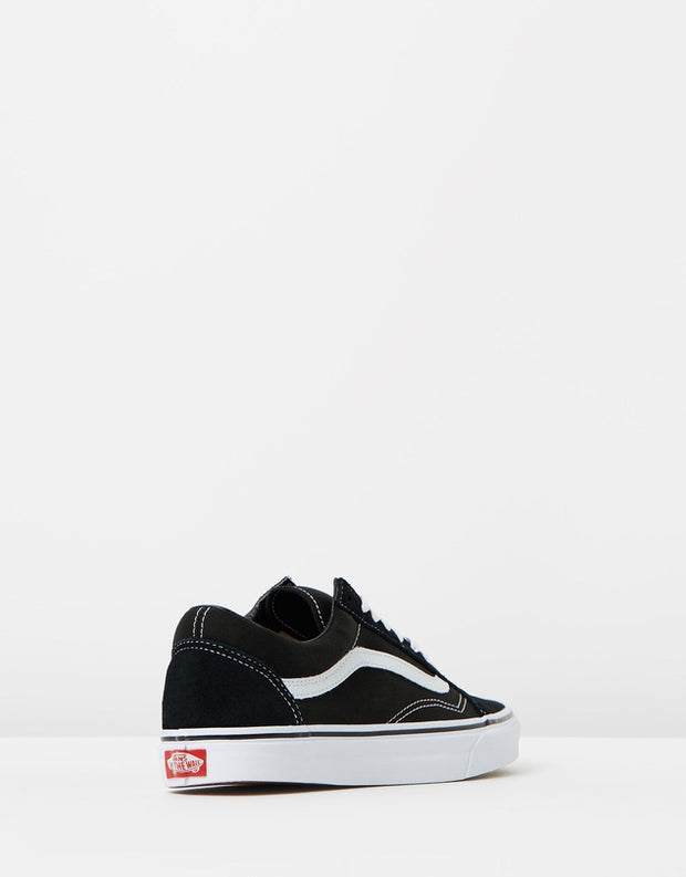 Old Skool Shoe - Black/White - Chicago Joes