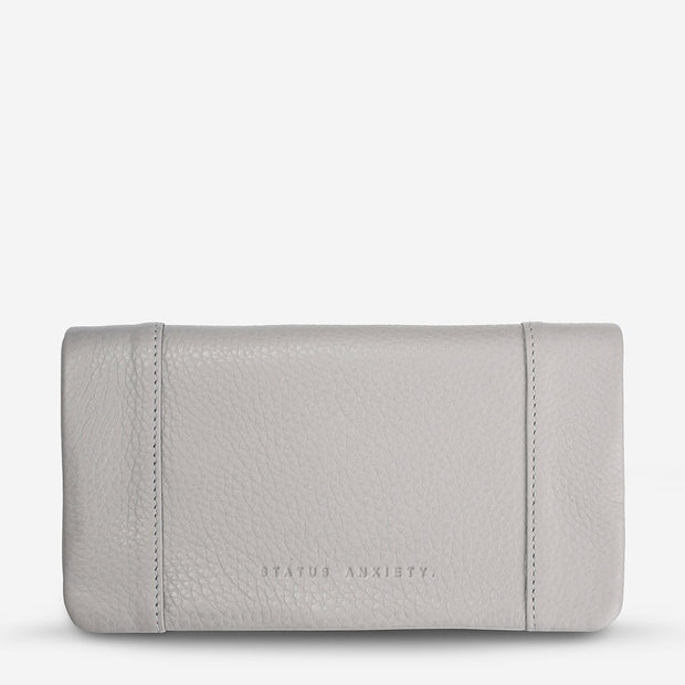 Status Anxiety Some Type Of Love Wallet - Light Grey - Buy online, Chicago Joes
