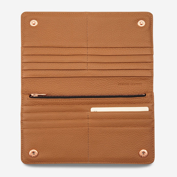 Triple Threat Wallet - Tan - Chicago Joes