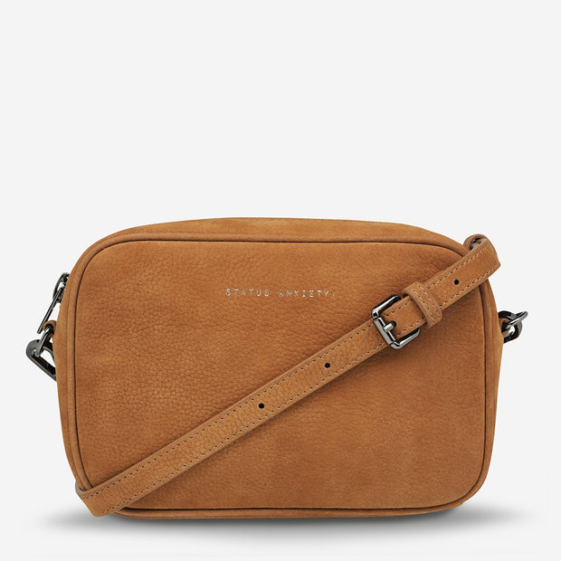 Status Anxiety Plunder Bag - Nubuck Tan - Buy online, Chicago Joes