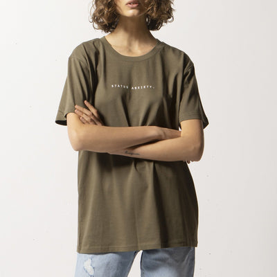 Think It Over Tee - Khaki