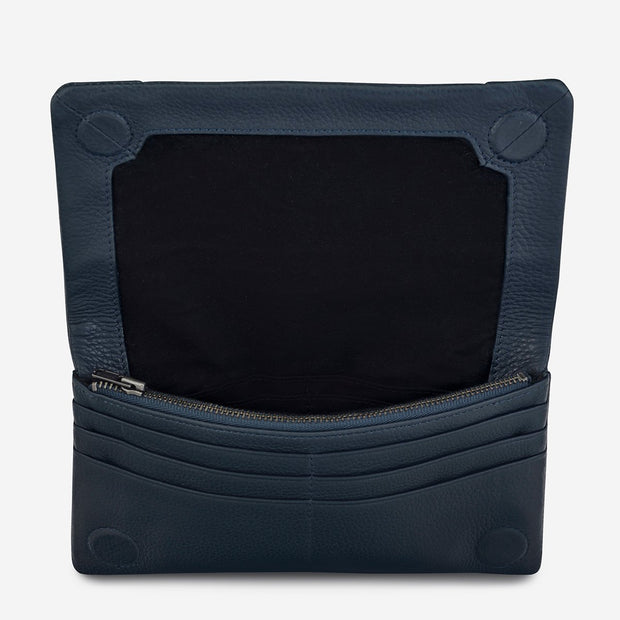 Status Anxiety Some Type Of Love Wallet - Navy Blue - Buy online, Chicago Joes