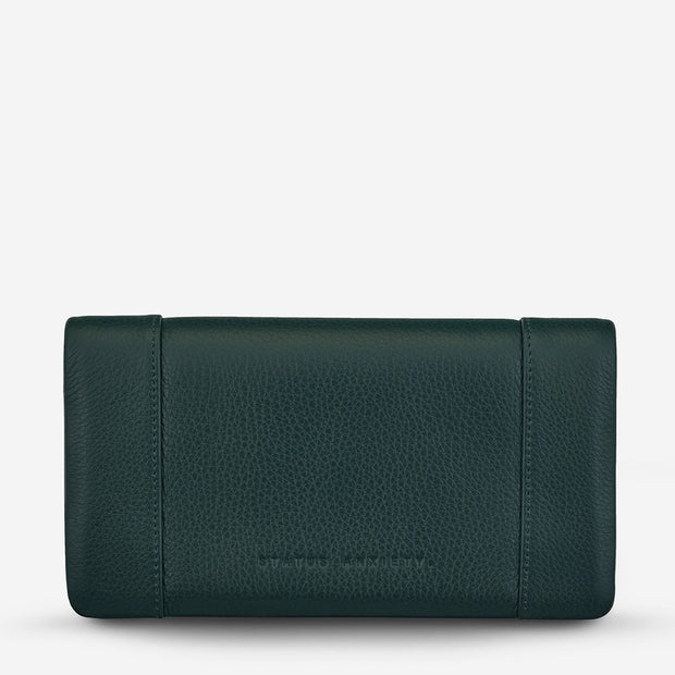 Status Anxiety Some Type Of Love Wallet - Teal - Buy online, Chicago Joes