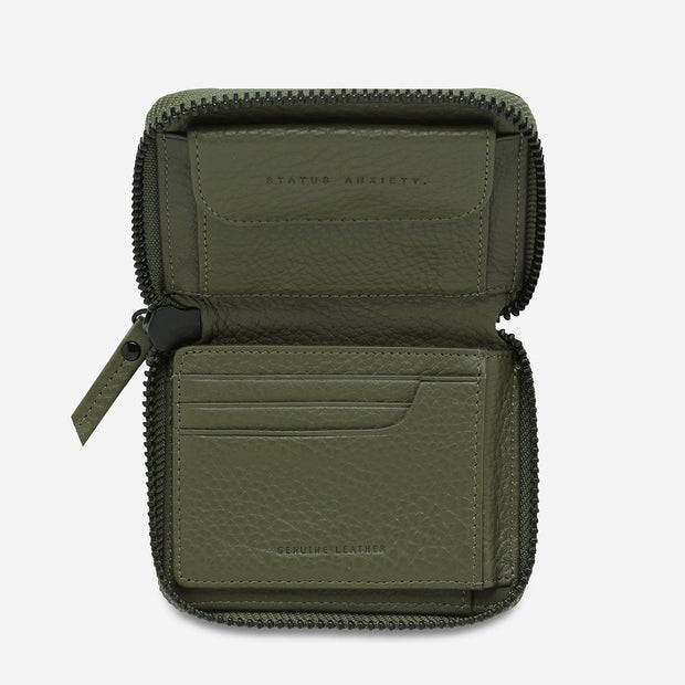 Chicago Joes Wayward Wallet- Khaki - Buy online, Chicago Joes