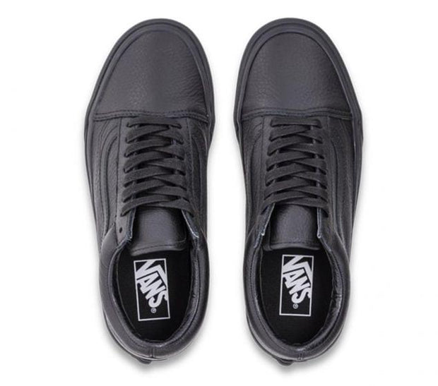 Old Skool Shoe - Black Leather