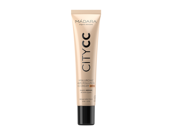 CC crème visage SPF15 Cruelty free Madara - The New Pretty