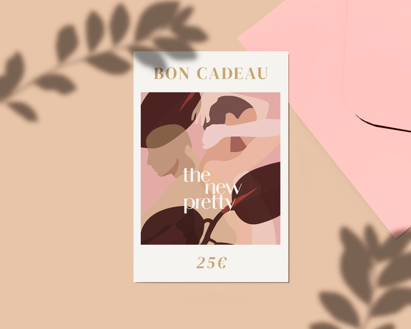 Carte cadeau Carte cadeau The New Pretty - The New Pretty