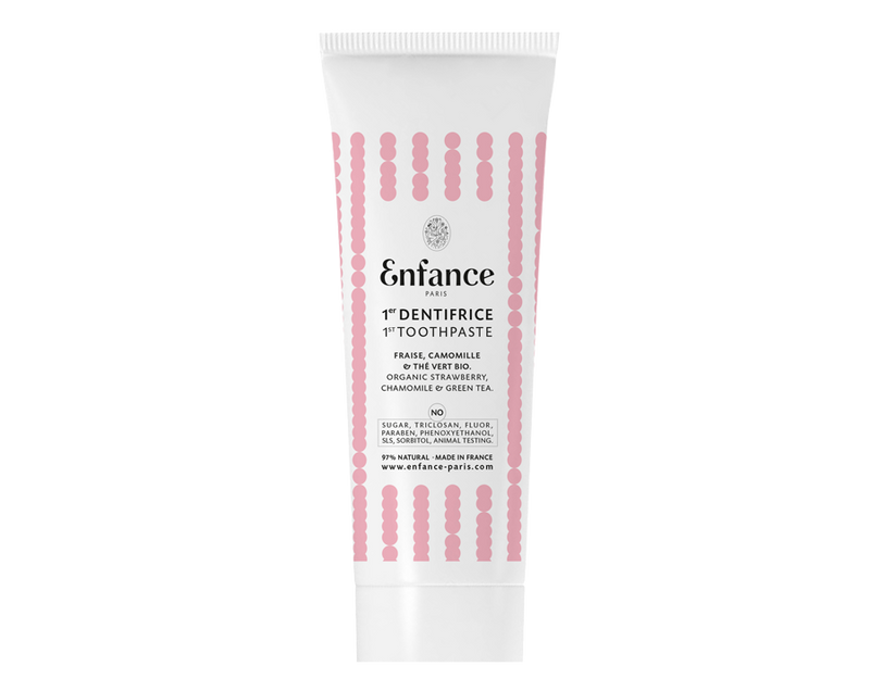 Dentifrice sain et naturel sans triclosan Vegan & Made in France Enfance Paris - The New Pretty