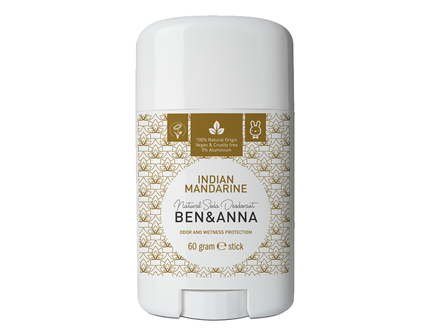 Déodorant à la mandarine indienne Bio, Vegan Ben & Anna - The New Pretty