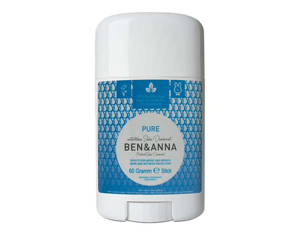 Déodorant peaux sensibles pure sans huiles essentielles Bio, Vegan Ben & Anna - The New Pretty