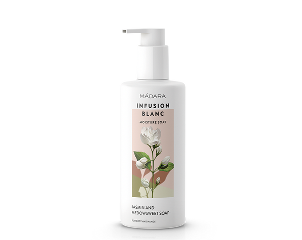 Gel douche hydratant infusion blanc