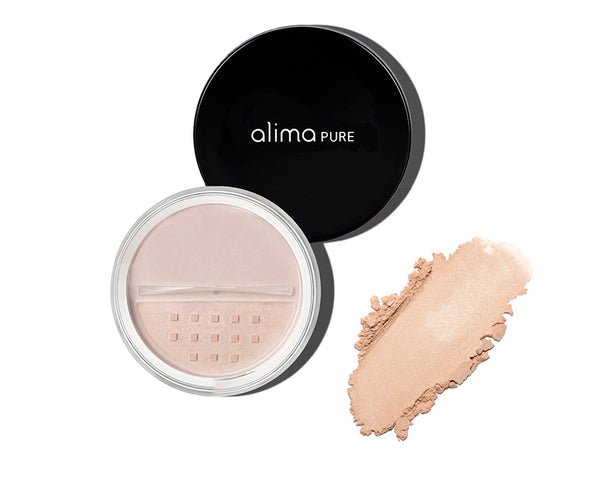 Poudre minérale illuminatrice Radiant Finish Powder Vegan Alima Pure - The New Pretty