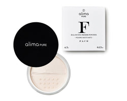 Poudre matifiante équilibrante Balancing Prime Powder Vegan Alima Pure - The New Pretty