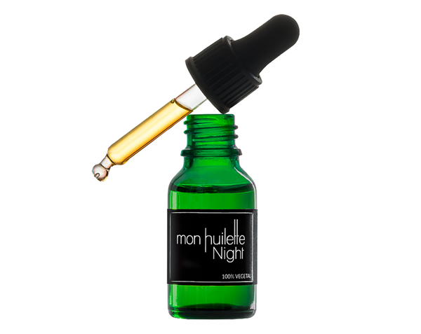 Sérum visage anti-âge nuit - Mon huilette night Bio, Vegan, Made in France Les Huilettes - The New Pretty