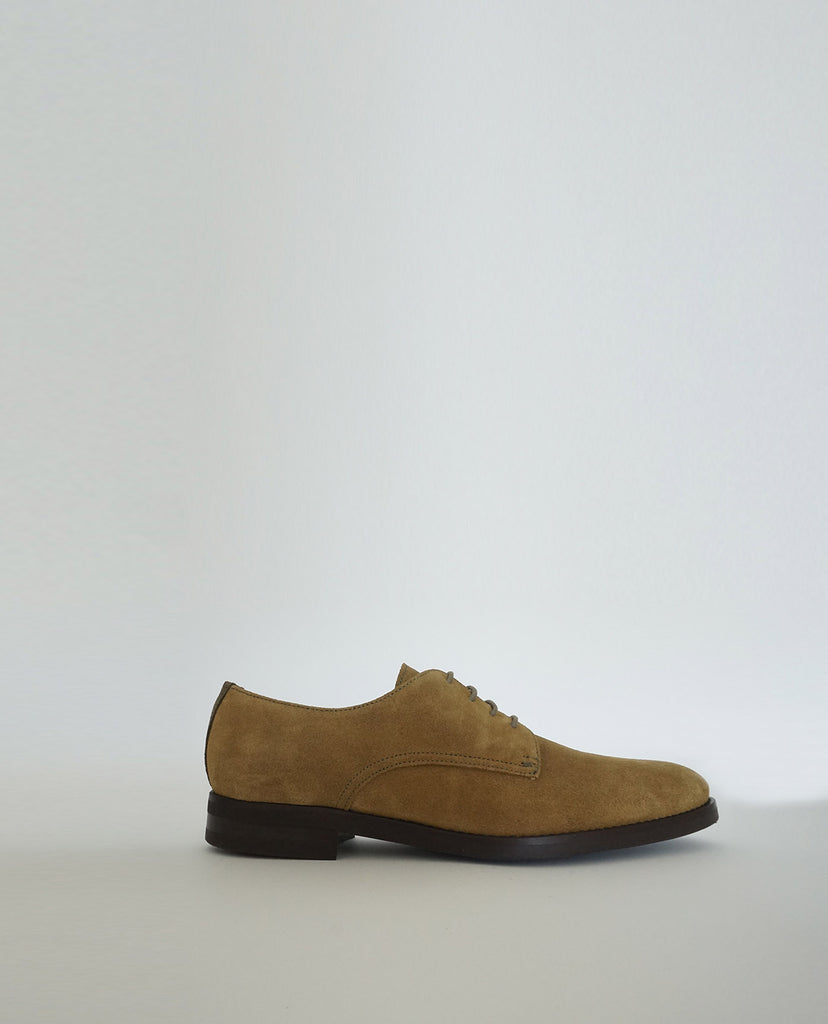 Zapato Oxford Ante Kaki The Hundred Shoes