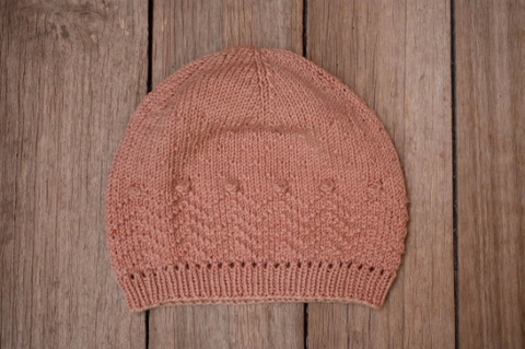KNITTING PATTERN // VIAJERA beanie // superwash merino wool