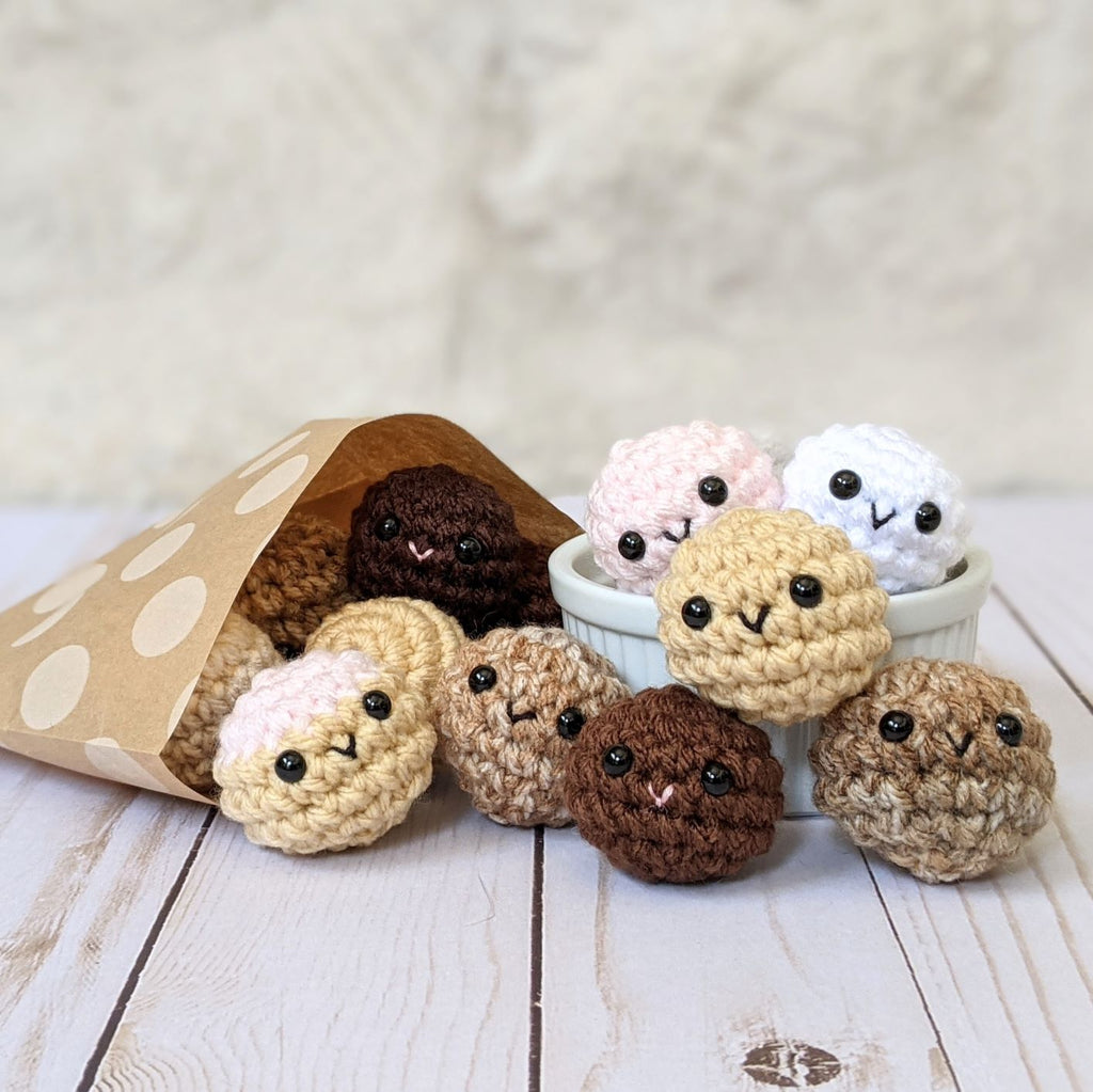 New Free Pattern: Donut Holes