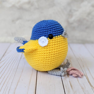 Maker Monday - Phil the Tit Bird by Airali Gray