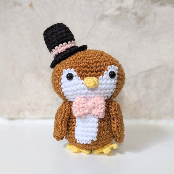 Meet Owlbert, the Dapper Owl!