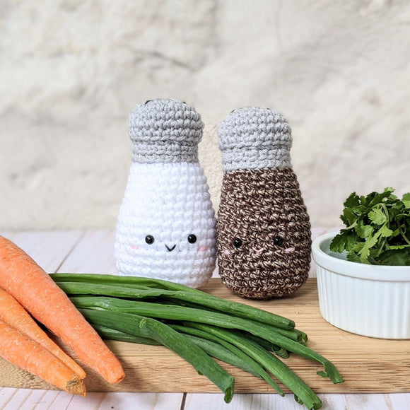 New Pattern - Salt and Pepper Shakers!