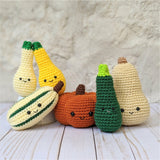 CROCHET PATTERN: Pumpkin Family