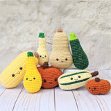 CROCHET PATTERN: Yellow Squash