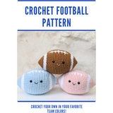 CROCHET PATTERN: Football