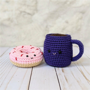 CROCHET PATTERN: Coffee and Donuts