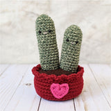 CROCHET PATTERN: Love Cactus