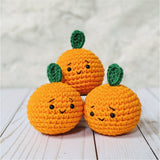 Crochet Orange Plush