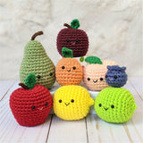 CROCHET PATTERN: Peach