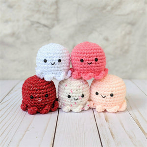 CROCHET PATTERN: Baby Octopus
