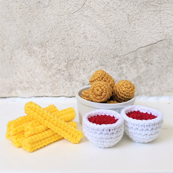 CROCHET PATTERN: Tater Tots and Fries