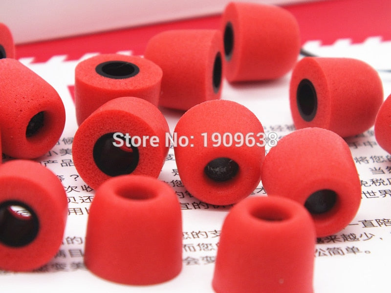 1 pair T100 T200 T400 Earphone tips Memory Foam Sponge ear pads for headphones 3/5 mm Caliber