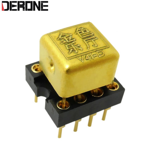 1 piece  V4i-D Dual Op Amp Upgrade HDAM8888 9988SQ/883B MUSES02 01 8820 OPA2604AP for es9038 dac