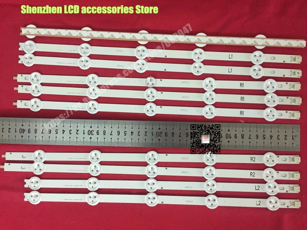 "10 Pieces/lot  FOR  LG  TV 42-inch  LCD backlight bar LG 42""  42LA620S 42LN613V 42LN540S-R2"