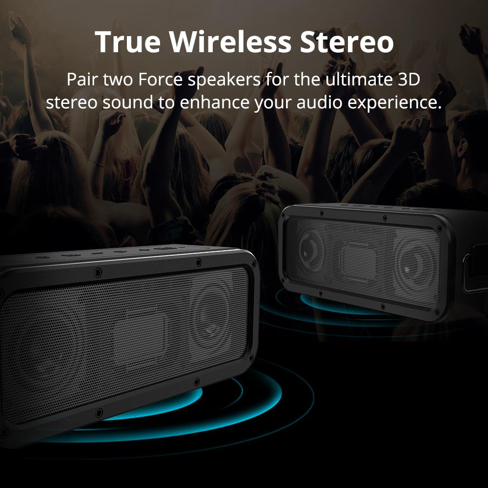 100% Original Tronsmart Element Force TWS NFC Portable Bluetooth Speaker 40W 15 Hours Playtime
