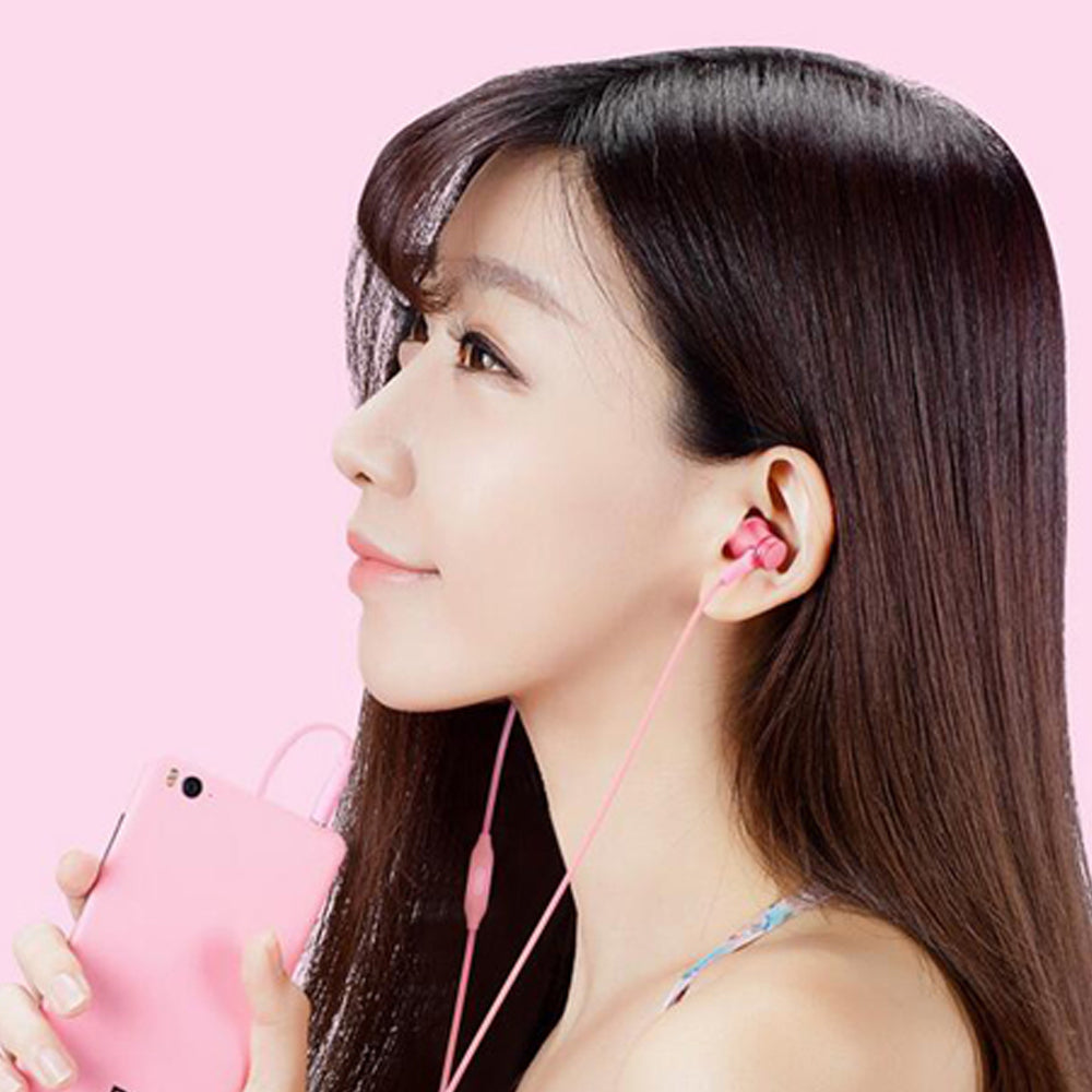 100% Original Xiaomi Earphone In -ear Earphones Piston Fresh Version colorful Earphones with Mic For