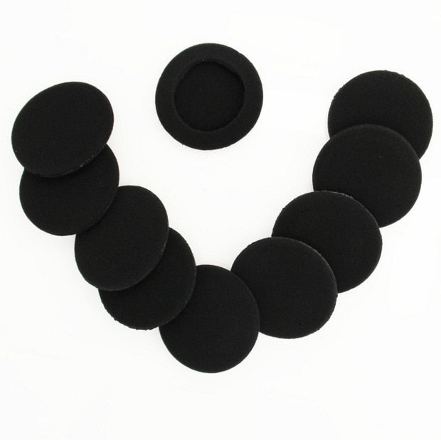 "10Pcs 2"" 50mm Foam Ear Tips Bud Headphone Earpads Replacement Sponge Covers Headset Earphone MP3 MP4"