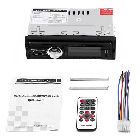 12V Fm Radio Stereo Receiver Mp3 Wma Wav Flac Car