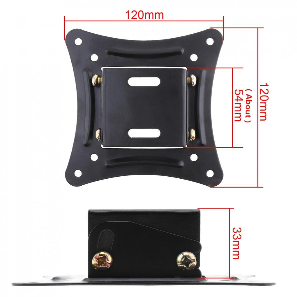 14 to 26 Inch LCD LED Monitor TV Wall Mount Mounts Bracket Fixed Flat Panel TV Frame Support 15