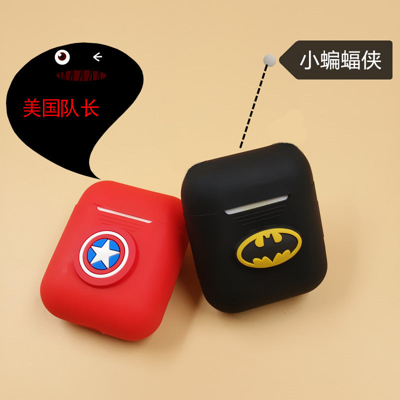 1PCS Cute Bluetooth Wireless Earphone Case For Apple AirPods TPU Silicone Charging Headphones