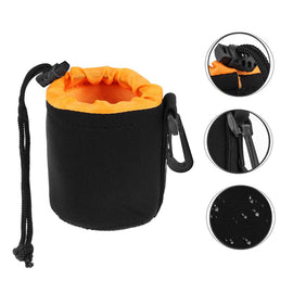 1Pcs Camera Lens Pouch Bag Neoprene Waterproof Soft Video Camera Lens Pouch Bag Case Full