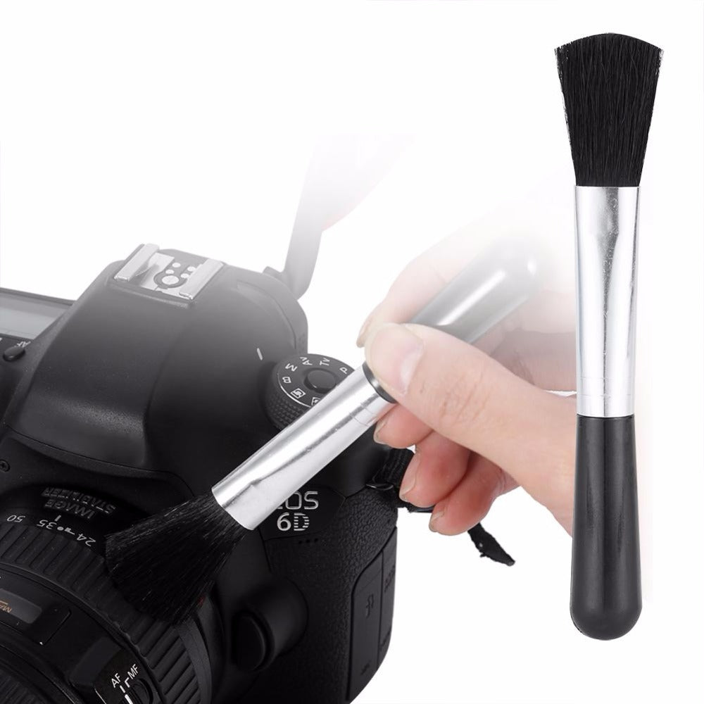 1x camera professional Lens Screen Cleaning Dust brush + 1x dust blower+ 1x Cleaning Cloth Kit For