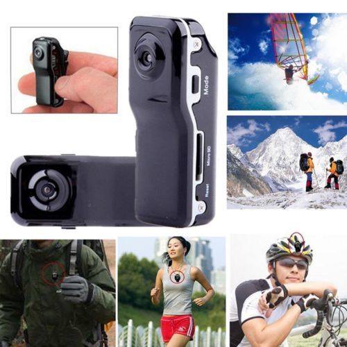 2 Million Camera Mini DV Helmet Secret Camcorder MD80 Video Audio Recorder DVR for Car Sport