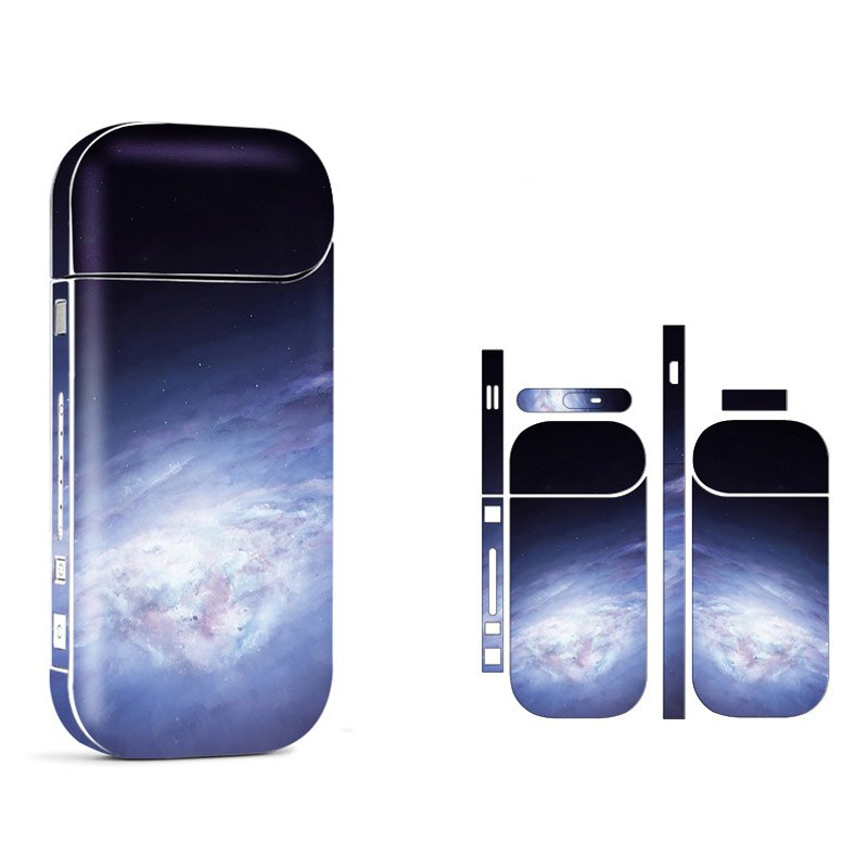 20 Patterns Star Sky PVC Material 3M Printing Label Sticker For IQOS 2.4 Plus Decal Skin Antiscratch