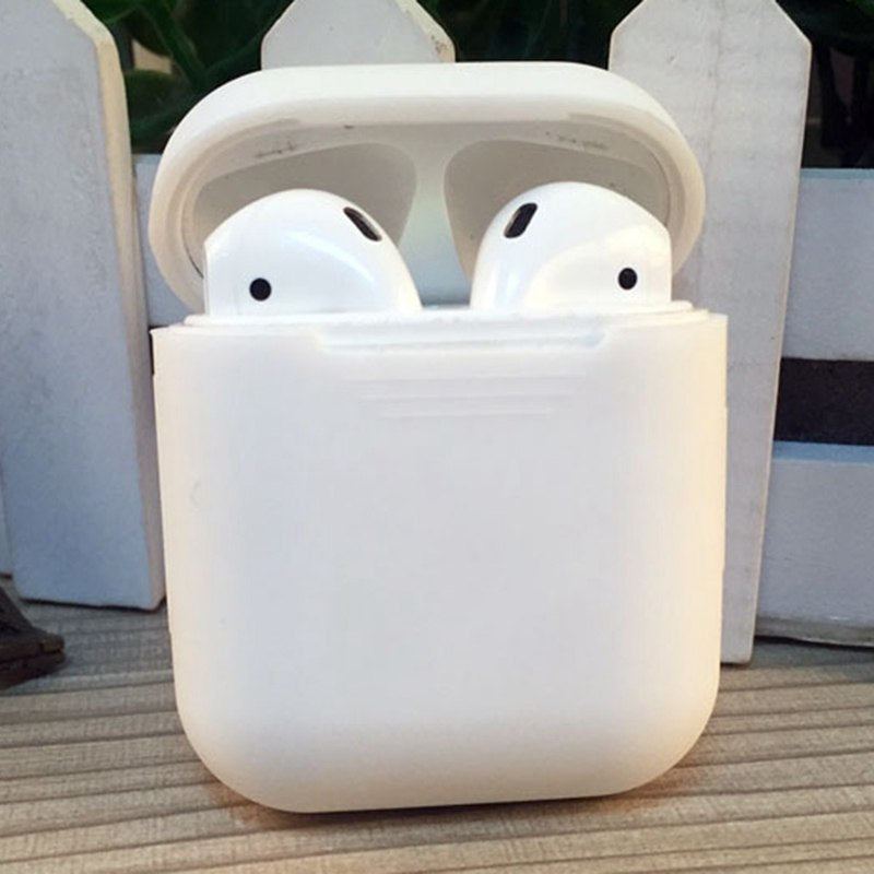 100% Fitting Soft Silicone Case For Apple Airpods Shockproof Cover For Apple AirPods Earphone