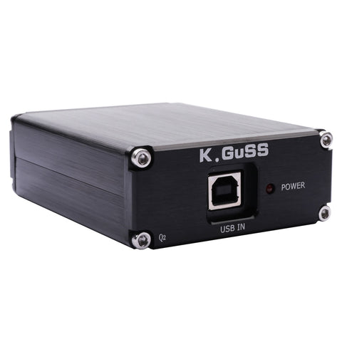2018 New KGUSS Q2 Breeze Audio ESS ES9018K2M + AD823 + SA9023 USB DAC Decoder External Sound Card